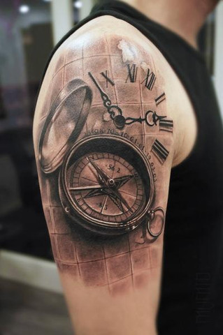 Kompass - (Tattoo, Tattoostudio)