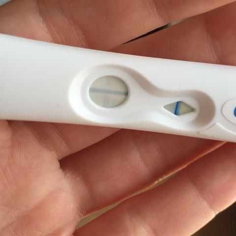 Hier der SS Test...  - (schwanger, überfällig Periode)