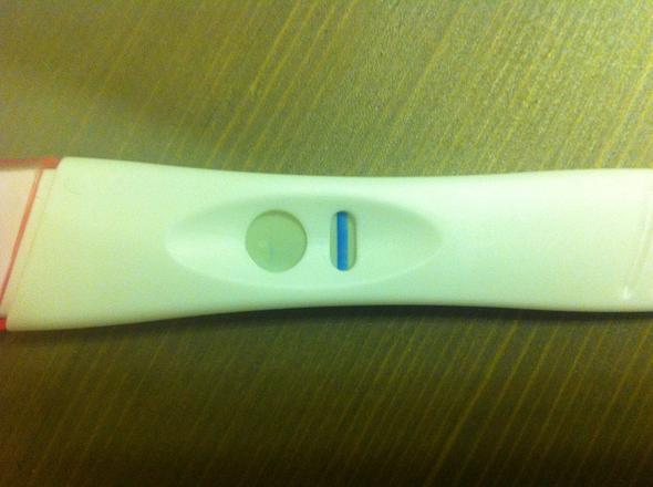 Schwacher strich schwangerschaftstest Schwangerschaftstest Linie