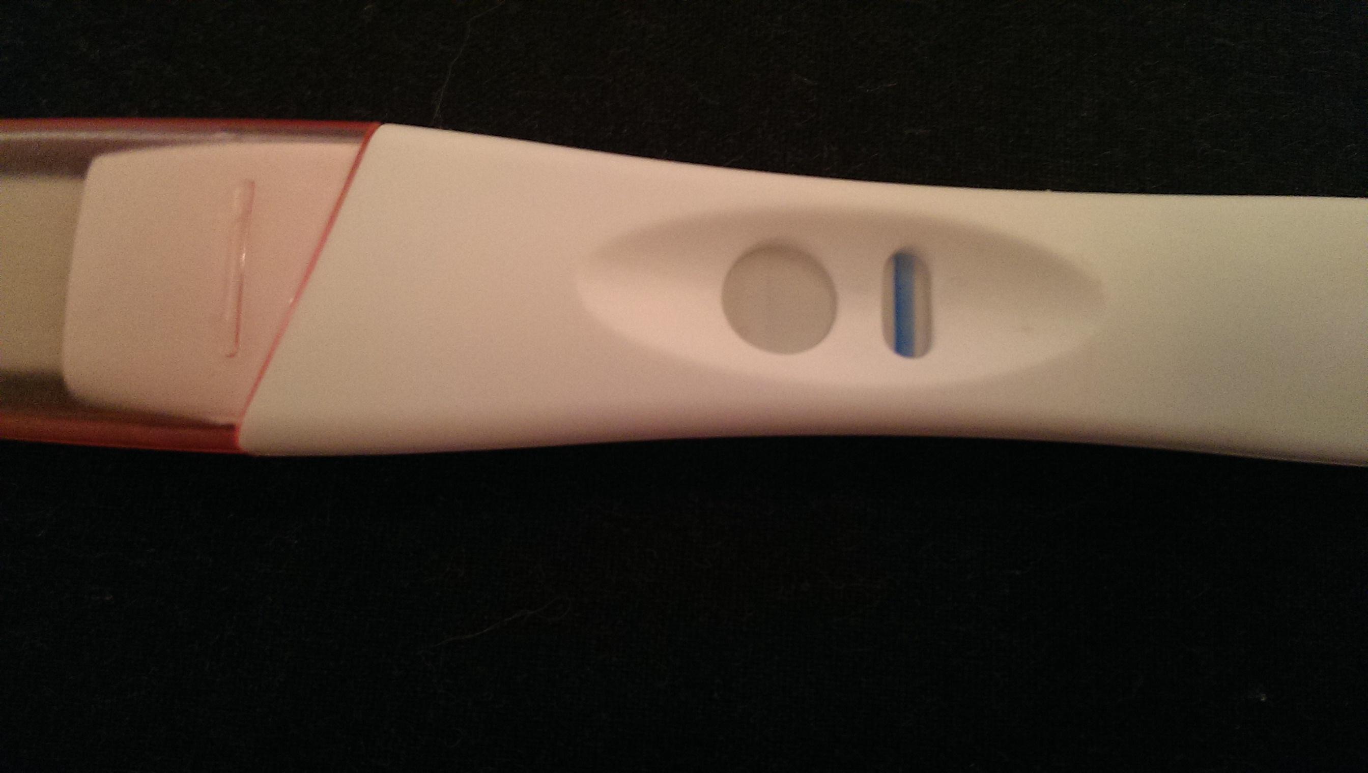 Schwangerschaftstest 2 Strich Kaum Sichtbar