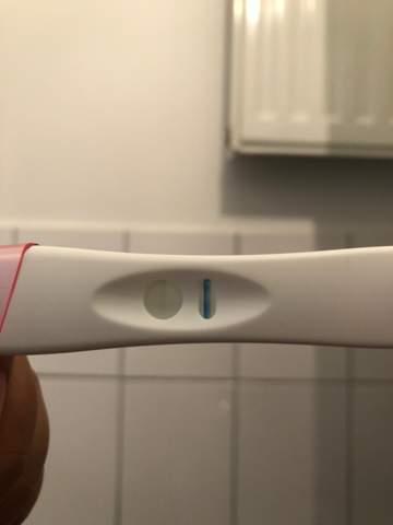 Schwangerschaftstest positiver Schwangerschaftstest