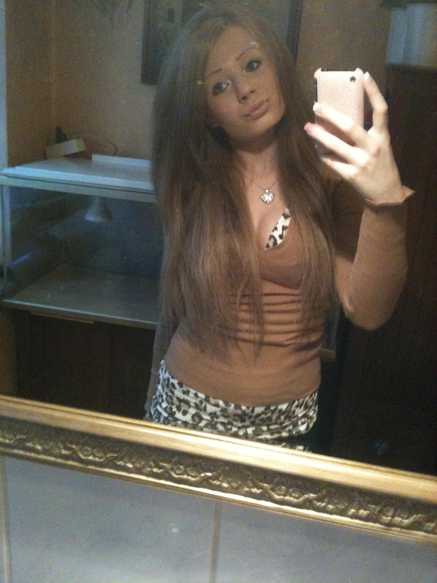Schwarz Gefärbte Haare