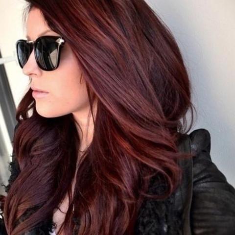 Rote haare schwarz Schwarz rote