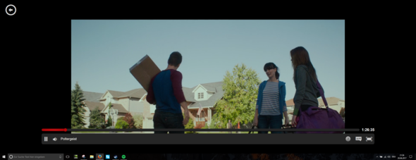 Hier so sieht das bei Netflix aus d: - (Computer, Bildschirm, Monitor)