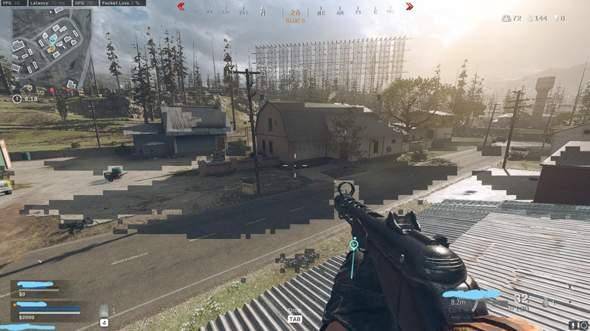 Schwarze-Durchsichtige Pixel in Warzone?
