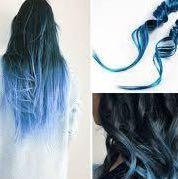 Directions haarfarbe auf schwarzem haar