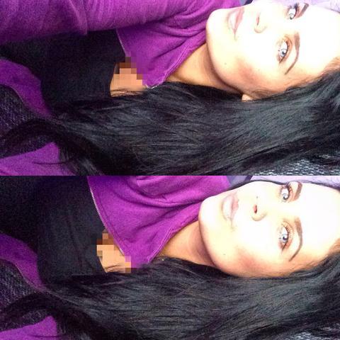 Haare wie schwarzen ich braun wieder meine bekomme Schwarz gefärbte