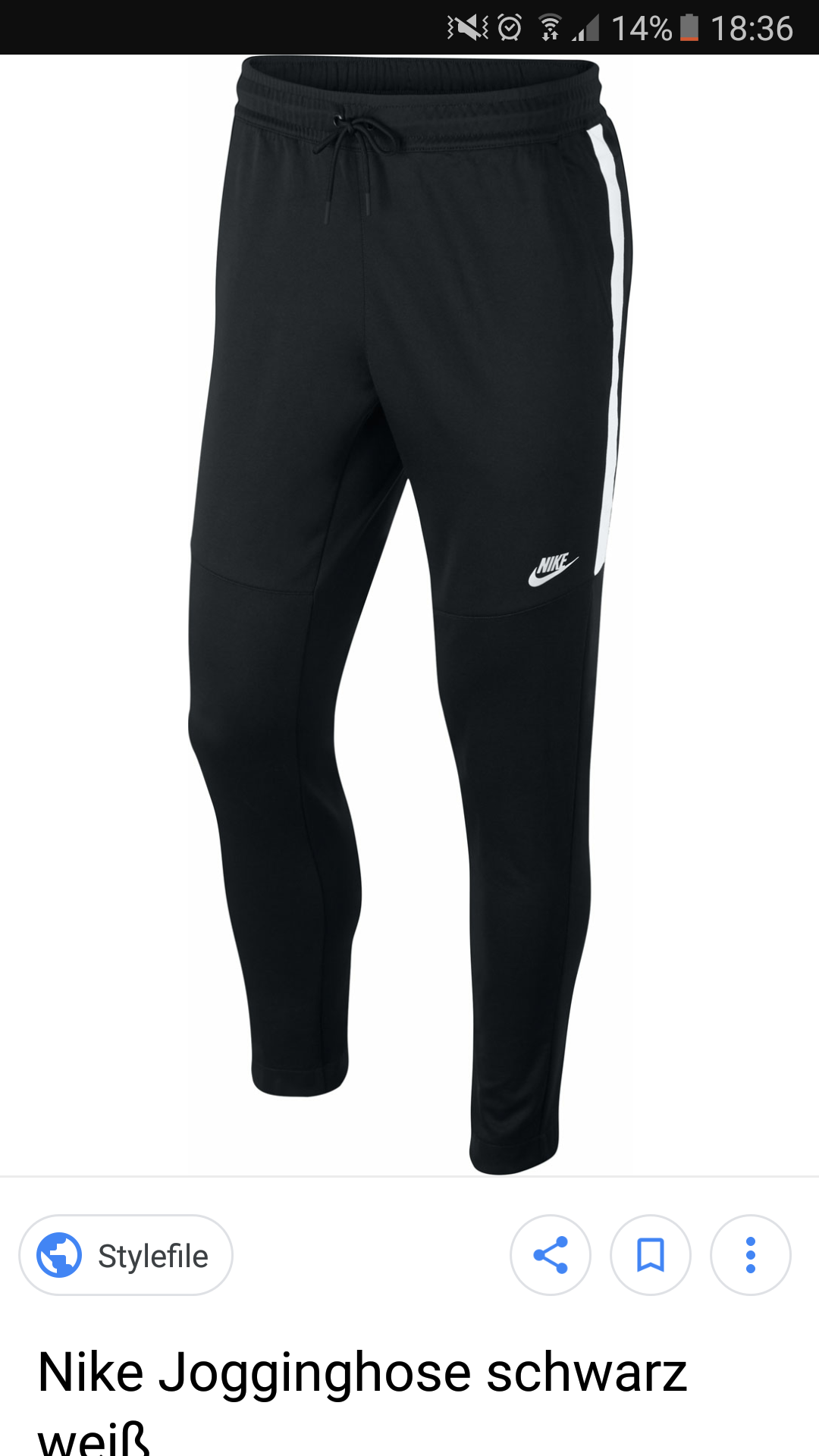 Entdecken Sie die neuesten Trends am beliebtesten Mode-Design Schwarze Nike Jogginghose? (ausverkauft)