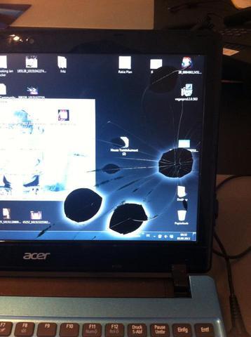 Der DEFEKT am Laptop - (Notebook, Bildschirm, LCD)
