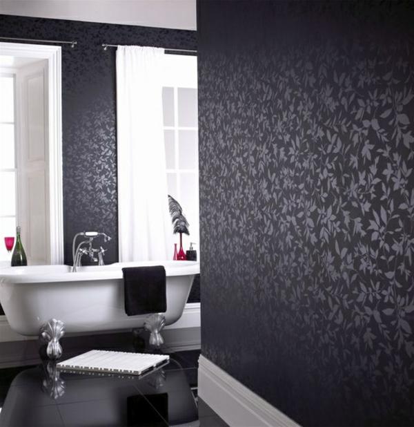 Schwarze Badezimmer Ideen - Design