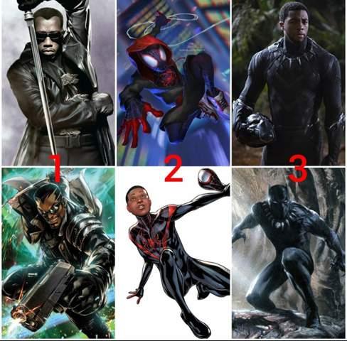 Schwarzer Marvel Held?