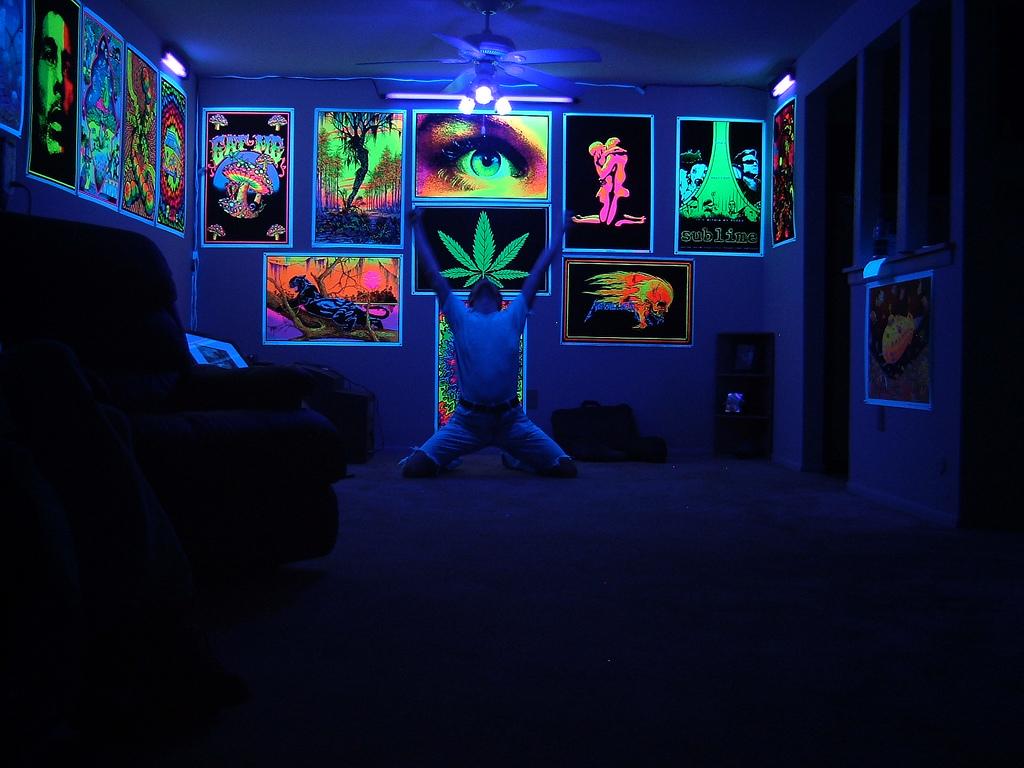 Schwarzlicht F 252 R Mein Schlafzimmer Welches Deko