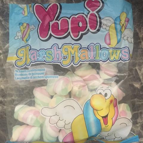 Hier das Bild - (marshmallows, Schweinegelatine)