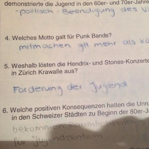 Richtige antwort, (frage 5) - (Musik, Schweiz, Pop)