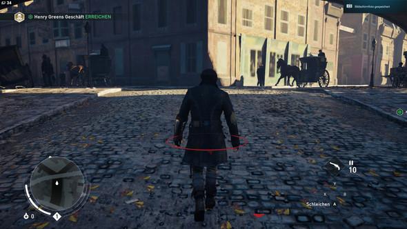 Texturen verschwommen- Spiel freezt - (Bug, Ac Syndicate, assassins creed bug)