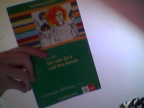 """Das Buch """" Die rote Zora und ihre Bande """" - (Schule, Buch, Text)"""