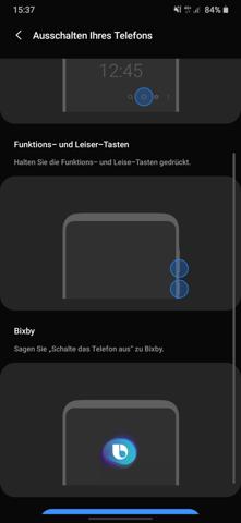 Screenshot Handy Machen