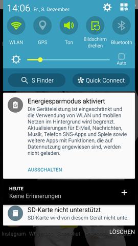 Sd Karte Wird Nicht Unterstützt Samsung Speicher Daten