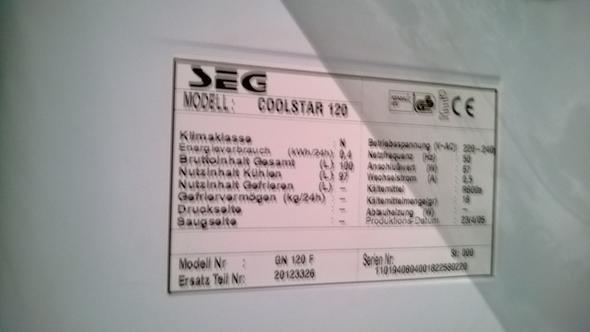 Gorenje Kühlschrank Seriennummer : Seg coolstar wo ersatzteile herkriegen defekt kühlschrank