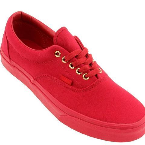 more photos 93505 011b9 Sehen diese Vans in rot weiblich aus? (Sneaker)