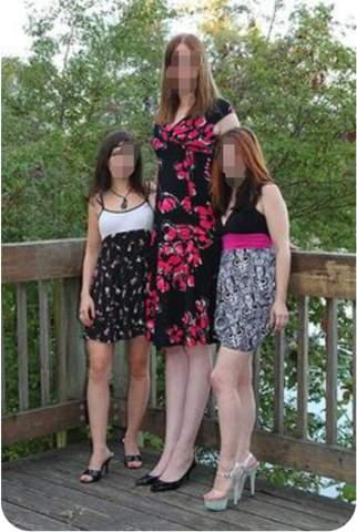 Sehen grosse Frauen optisch weniger attraktiv aus als