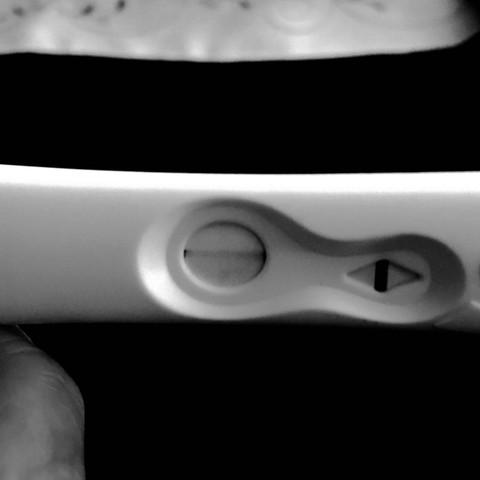 Test von gestern  - (schwanger, Test)