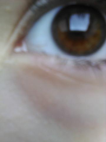Das Auge  - (Augen, braune Augen)