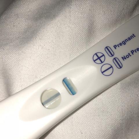 schwangerschaftstest schwacher strich