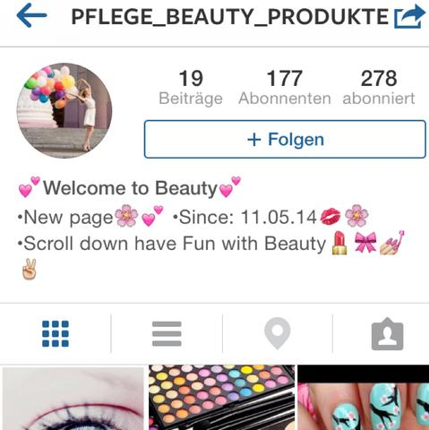 - (instagram, Seite, 2account)