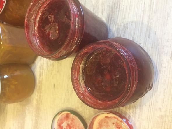 Selbstgemachte Marmelade Ist Das Schimmel