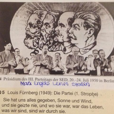 Präsidium des III. Parteitages der SED in Berlin - (Geschichte, SED, erläutern)