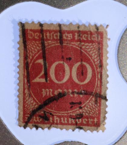 Seltene Briefmarke Sammeln Briefmarken Selten