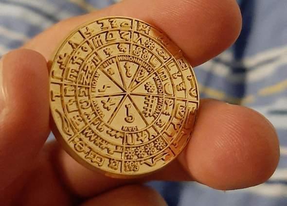 Seltene Goldmünze entdeckt?