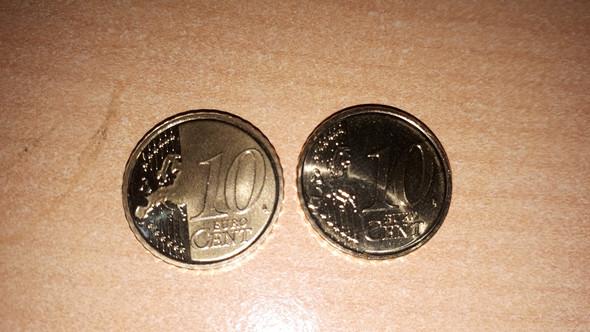 Seltenes 10 Cent Stück Euro Sammeln Münzen