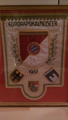 seltenes FC Bayern Wappen, wie viel wert?
