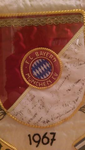 Unterschriften - (FC-Bayern, Rarität, Schätzwert)