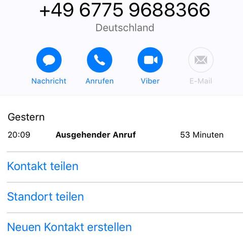 Der Anruf  - (Telekommunikation, Anruf, Ausgehende Anrufe)