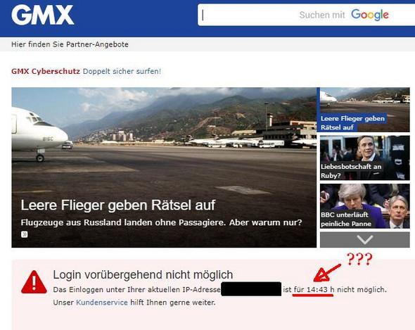 Gmx login sofort
