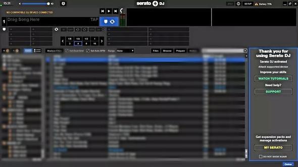 Hardware angeschlossen, jedoch nicht verbunden - (DJ, serato, Numark)