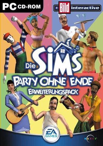 Sims Party ohne Ende Erweiterungspack - (Sims, Seriennummer)