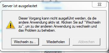 So sieht es aus! - (Server, Windows7, ausgelastet)