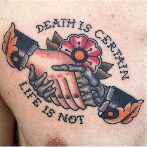 - (Tattoo, wohin)