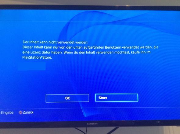 Nachricht die kommt  - (Technik, PS4, Sharing)