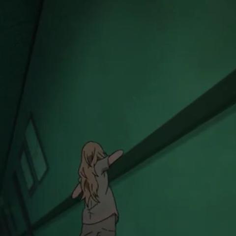 fällt runter unter und probiert aufzustehen aber schafft es nicht - (Anime, Serie, Kaori)