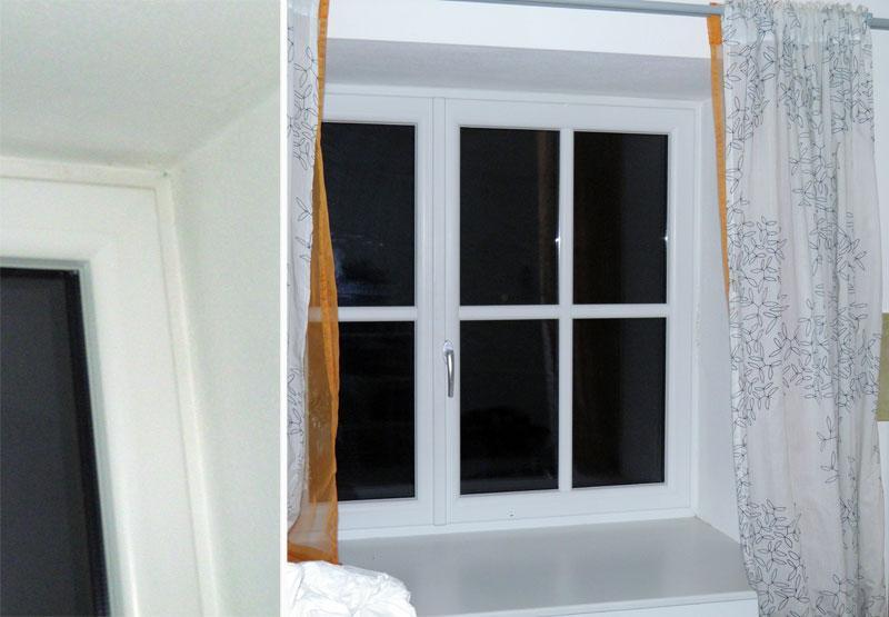 Sichtschutz Für Kniffliges Fenster (kleben, Ohne Bohren