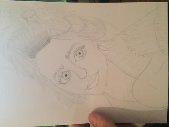Girl - (Frauen, Zeichnung)