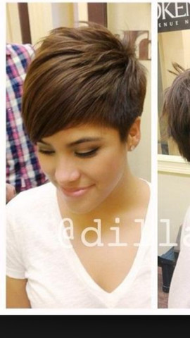 Haare kurz schneiden frau
