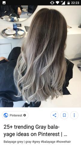 Sieht Graublonde Balayage Bei Dunkelblonden Ansatz Gut Aus Haare