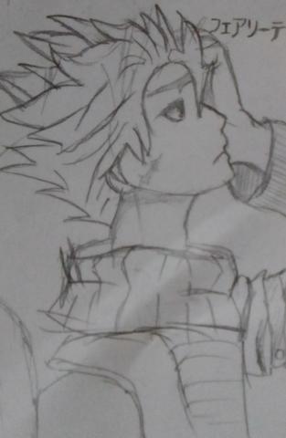 Sieht man aus welchem Anime meine Zeichnung ist?