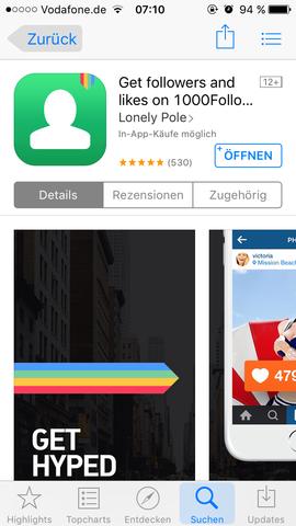 Das ist die App - (instagram, Profil, Instalike)